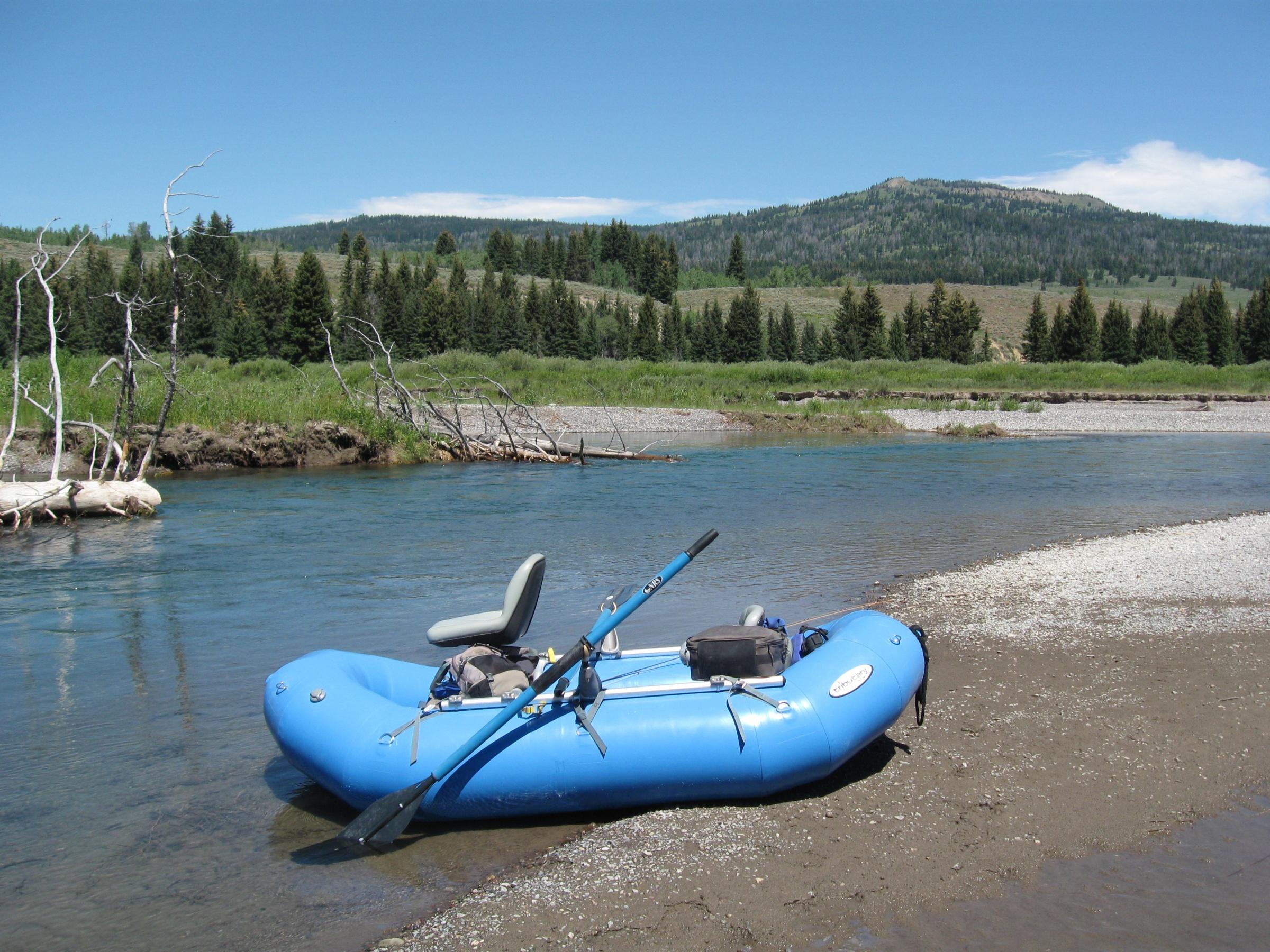 1st pontoon raft recommendation washington fly fishing for Fly fishing raft