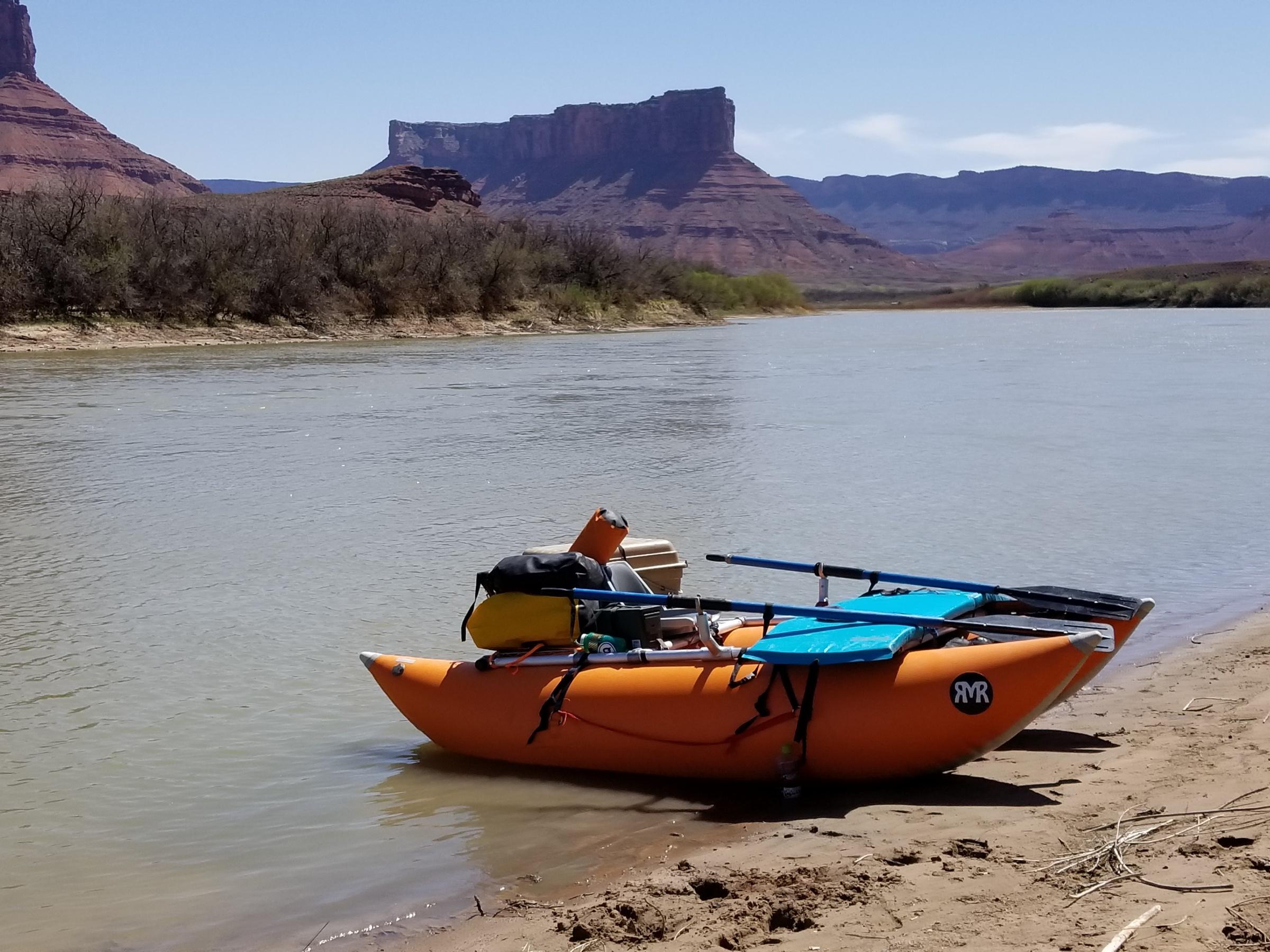 RMR Phat Cat as a gear boat? - Mountain Buzz