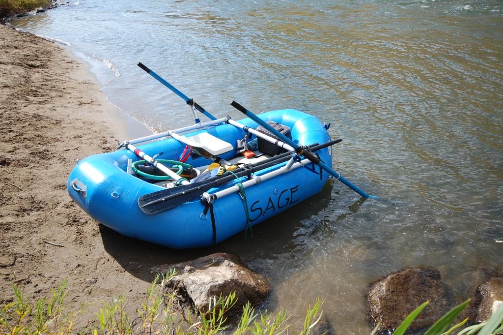Small homebrew raft frame - Mountain Buzz