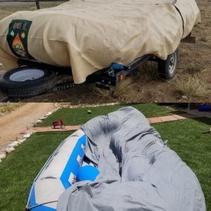 14' Over it. Cover vs. cheap car cover
